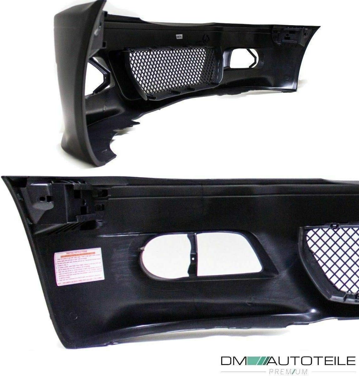 DM Autoteile Coupe Cabrio Front Sto/ßstange Vorne passt f/ür E46 99-03 NSW Chrom f/ür M3