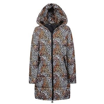 Amazon.com: Quelife - Chaqueta de invierno con capucha para ...