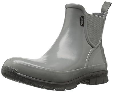 Women's Amanda Slip on Solid Rain Boot