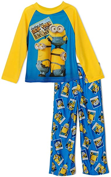 MINIONS - Pijama dos piezas - para niño Amarillo amarillo