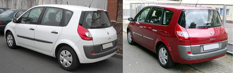 AUTO ZH Heckscheibenwischerarm und Wischerblatt f/ür Renault Scenic 2003-2009