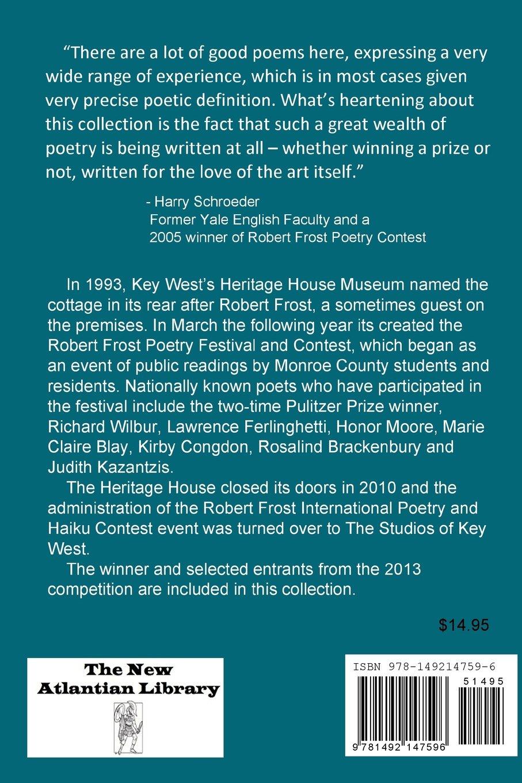 The 2013 Robert Frost International Poetry & Haiku Contest