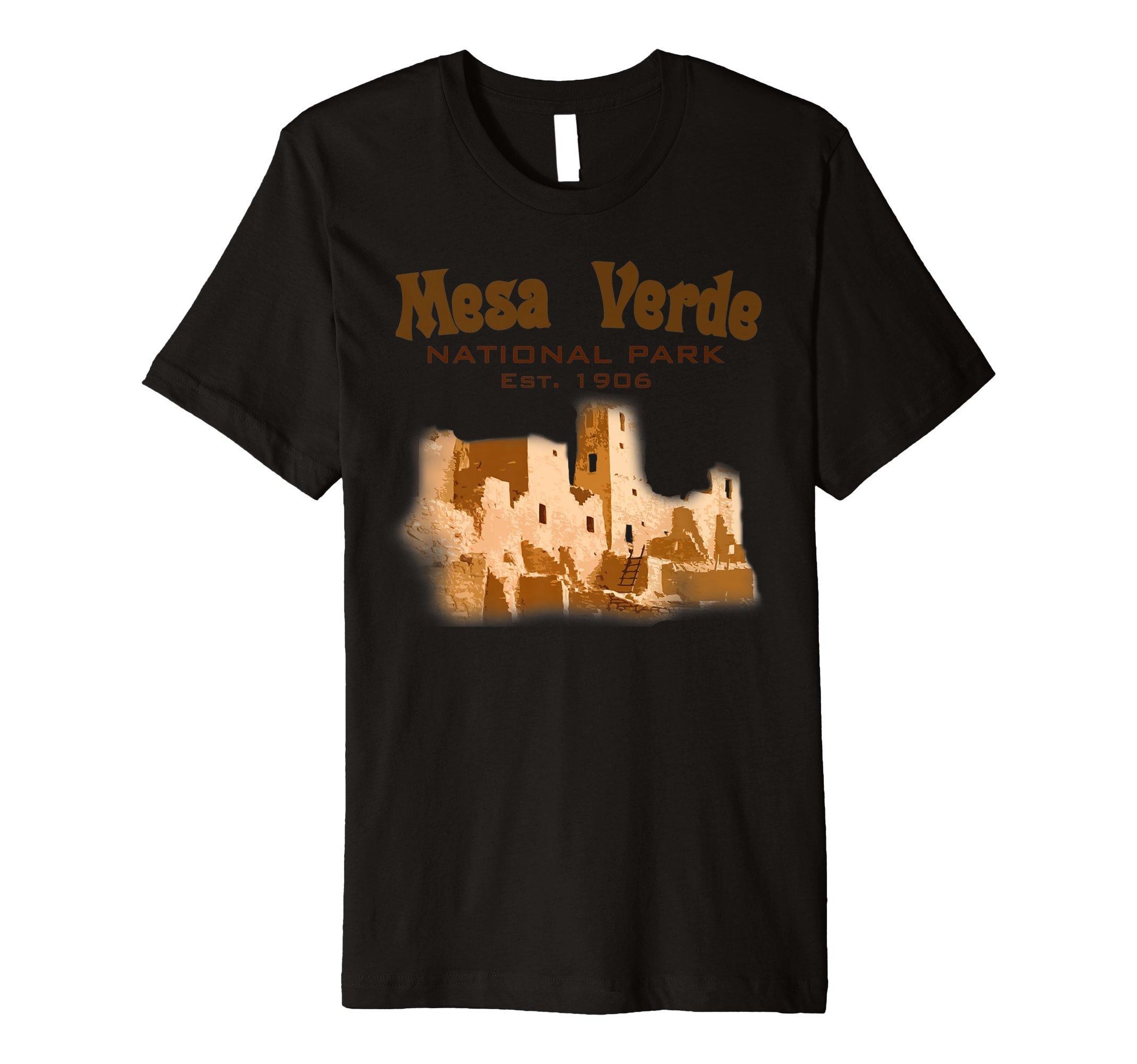 Travel Mesa Verde National Park Colorado USA State T Shirt