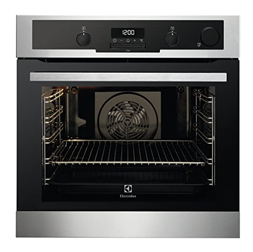 Electrolux EOB 6410 BOX - ovens (Medium, Built-in, Electric, A, Black, Stainless steel, Buttons, Rotary)