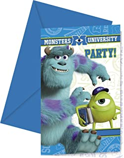 Amazoncom Disney Monsters Inc Birthday Party Invitations