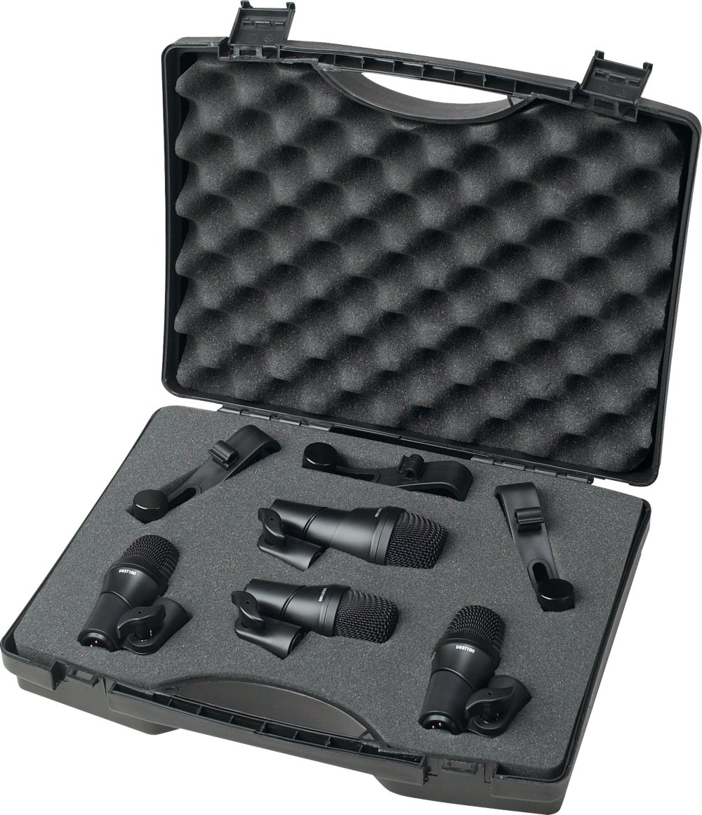 Digital Reference DRDK4 4-Piece Drum Mic Kit by Digital Reference