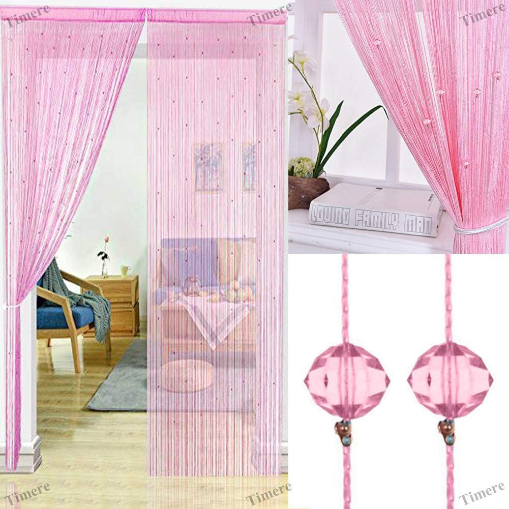 timere crystal beaded curtain tassel curtain partition door curtain beaded string curtain door screen panel home decor divider crystal tassel screen