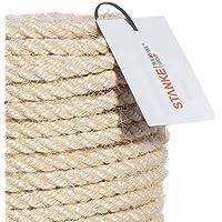 Seilwerk STANKE Cuerda de sisal rizada 50 m
