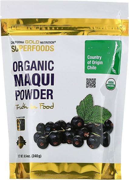 Amazon Com California Gold Nutrition Superfoods Organic Maqui
