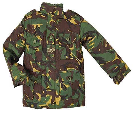 ea9405abc8f83 Highlander Childrens Padded Camouflage Combat Jacket - British DPM ...