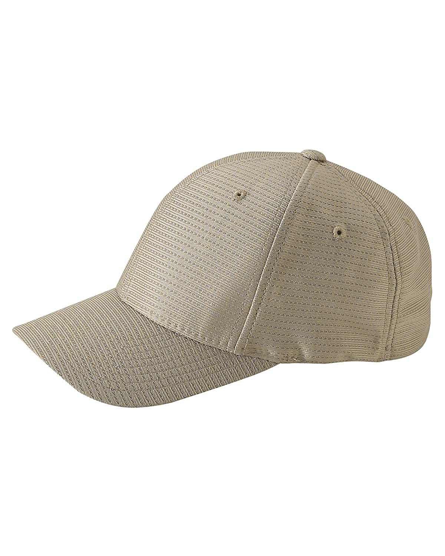 b5c3c505421 Amazon.com  Yupoong Flexfit  Cool   Dry 6-Panel Cap (OS   KHAKI)  Apparel    Clothing