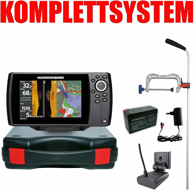Humminbird Echolot Helix 7 Chirp GPS Mega SI G3 - GPS portátil: Amazon.es: Electrónica
