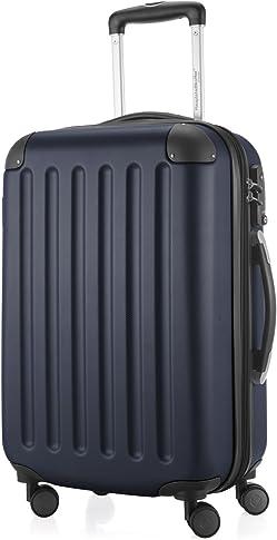 HAUPTSTADTKOFFER Spree Carry on luggage Suitcase Hardside Spinner Trolley Expandable 20¡° TSA Darkblue