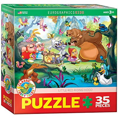 EuroGraphics Little Red Riding Hood (35 Piece) Puzzle: Toys & Games