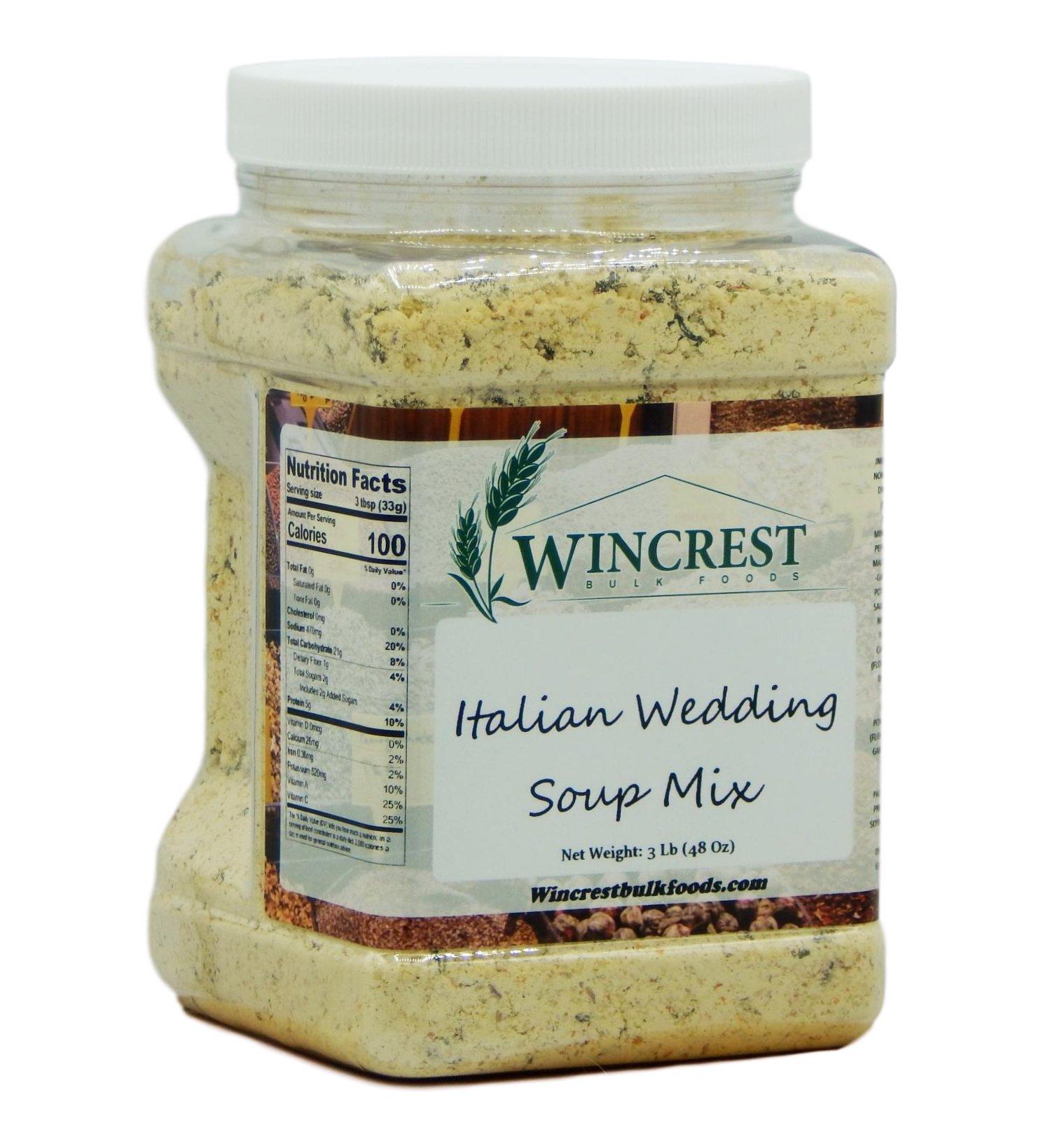 Italian Wedding Soup Mix - 2.5 Lb Tub