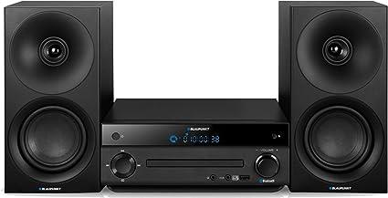 Blaupunkt MS30BT Sistema de Audio para el hogar Negro 40 W - Microcadena (Negro, 1 Discos, 40 W, PLL, LED, MP3)