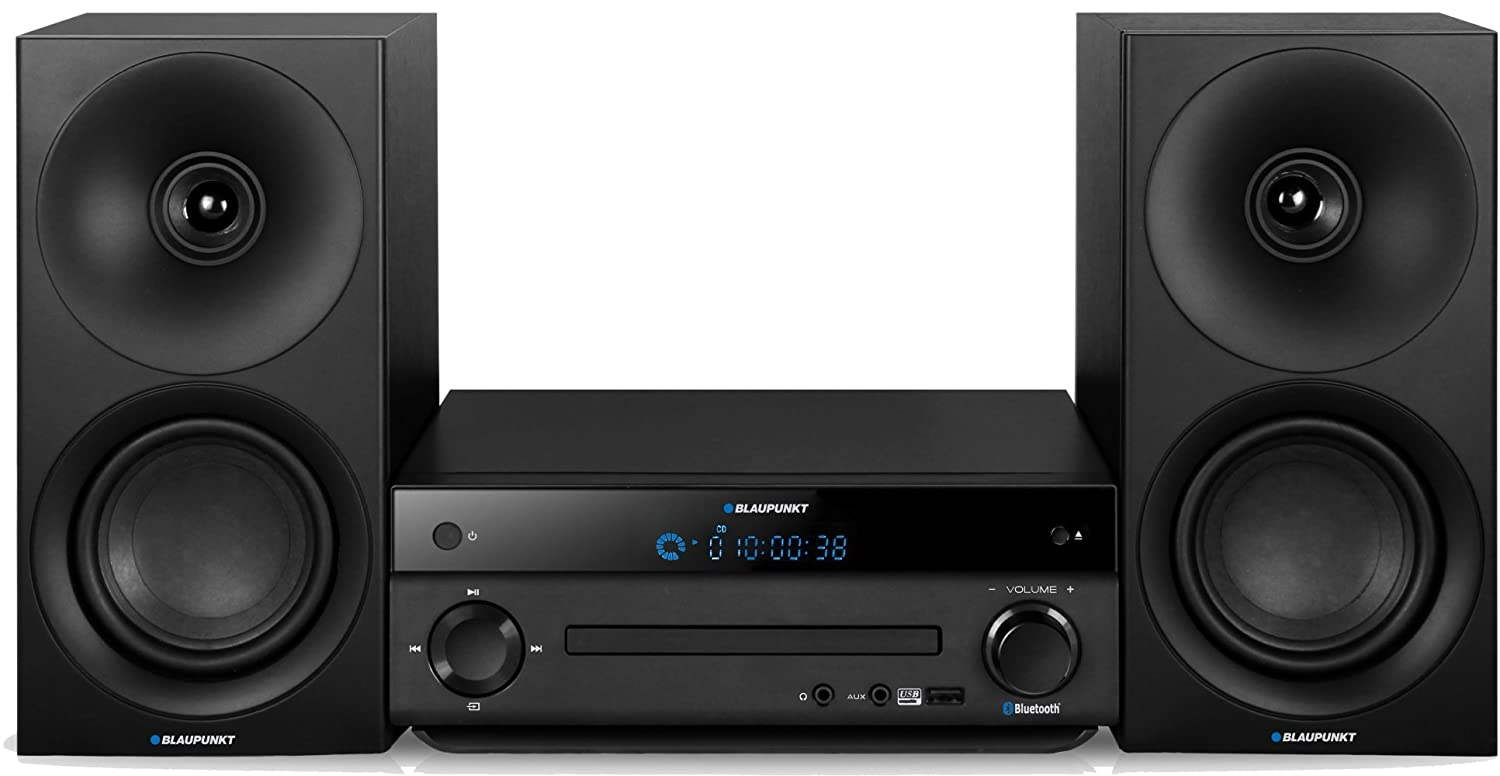Blaupunkt MS30BT Micro Hifi (CD, lecteur MP3, USB, Bluetooth, écran LCD)