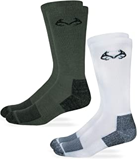 product image for RealTree Men's Womens Kids Insect Shield Crew Socks 2 Pack