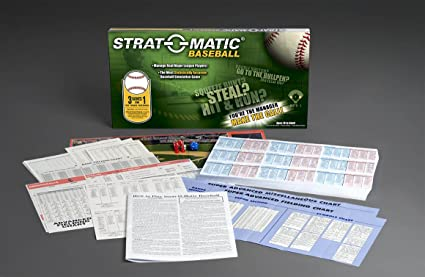 Strat O Matic Baseball Current Edition Game