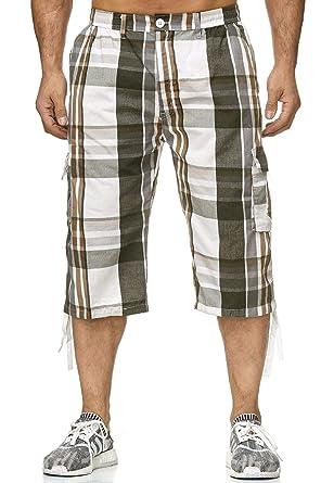 bene fuori x materiali di alta qualità disponibile ArizonaShopping - Shorts Pantaloncini Uomo Bermuda 3/4 Casual Pantaloni a  Scacchi H2262