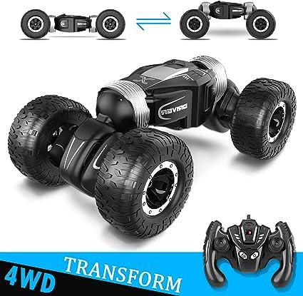 4 CH RC Auto ferngesteuertes Doppelseitiges 4WD Off Road Kinder Spielzeug AE-DE
