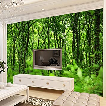 Bkph 3d Carta Da Parati Sfondo Di Foresta Naturale Paesaggi Dipinti