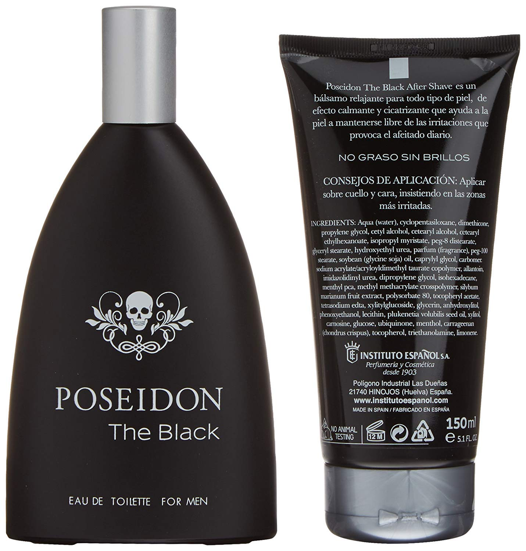 Poseidon Hombre Set de Belleza Edición The Black - Eau de Toilette, After Shave: Amazon.es: Belleza