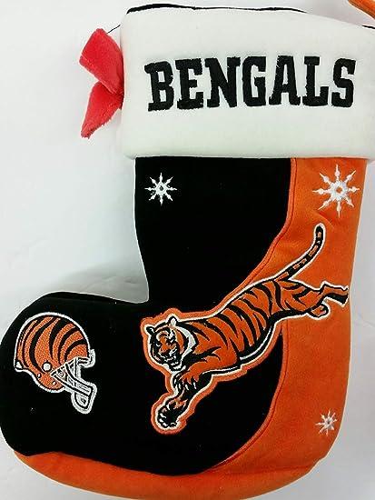 11d06049 Amazon.com: Team Beans NFL Cincinnati Bengals Christmas Stocking ...
