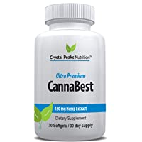 CannaBest | All-Natural Hemp Extract Softgels | Relieve Stress, Anxiety, Inflammation...