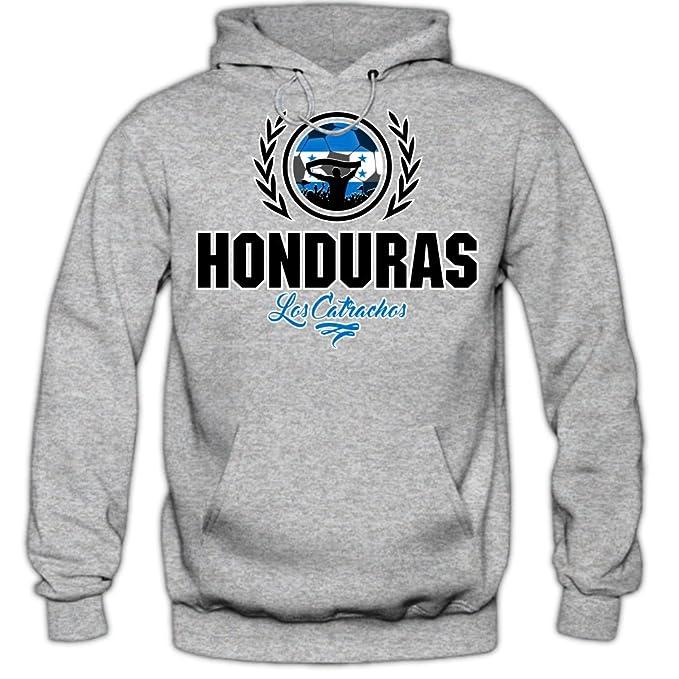 Shirt Happenz Fútbol Honduras V2 Sudadera con Capucha | Hombre | Fútbol | Equipo Nacional |