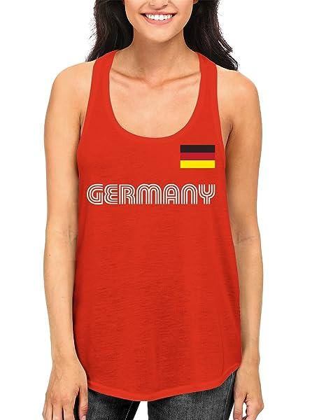 Apparel Germany Soccer Racerback Tank Top Shirts