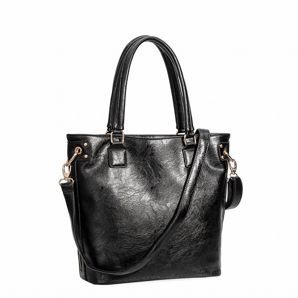 Mode Handtasche Schulter Diagonal Handtasche Handtasche 3066 , schwarz