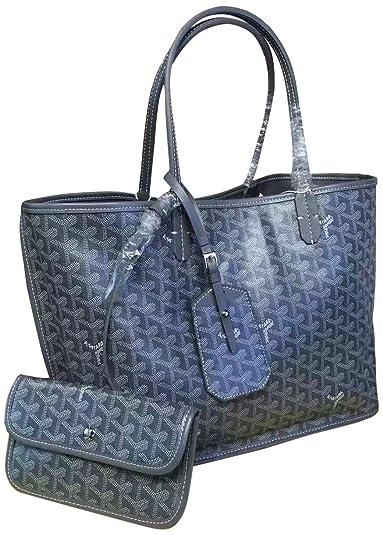 fe618bb904ba GOYARD ゴヤール レディーストートバッグ 両面使える レザーバッグ 通勤かばん6色揃い (灰色