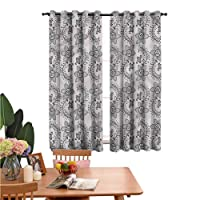 Thermal and Sunscreen Curtains Authentic Russian Boho for Kids Boy Girl Bedroom