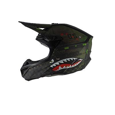 O'Neal - 0628-005 5 Series Unisex-Adult Off-Road Helmet (Black/Green, XL): Automotive