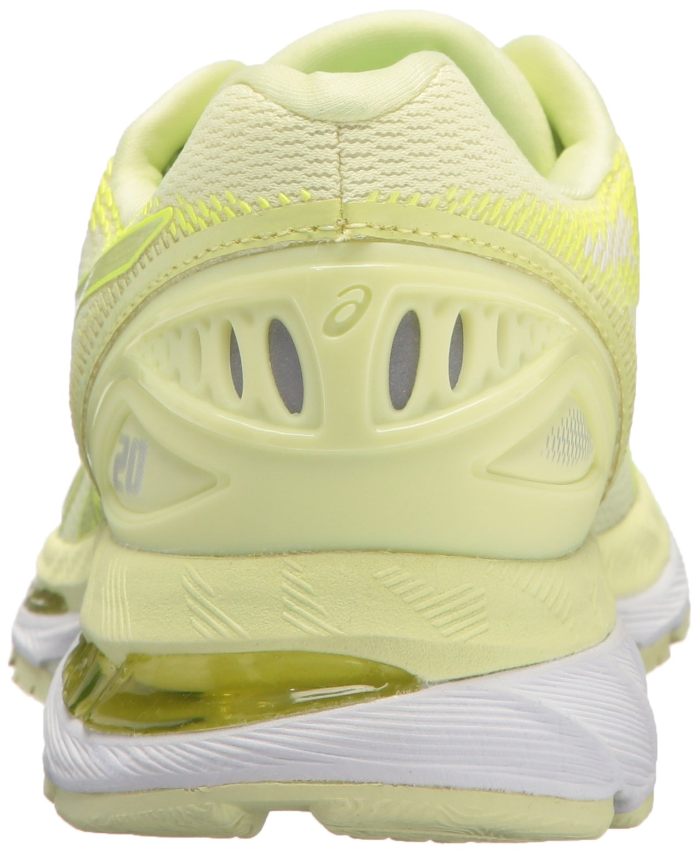 ASICS Women's Gel-Nimbus 20 Running Shoe, limelight/limelight/safety yellow, 5.5 Medium US by ASICS (Image #2)