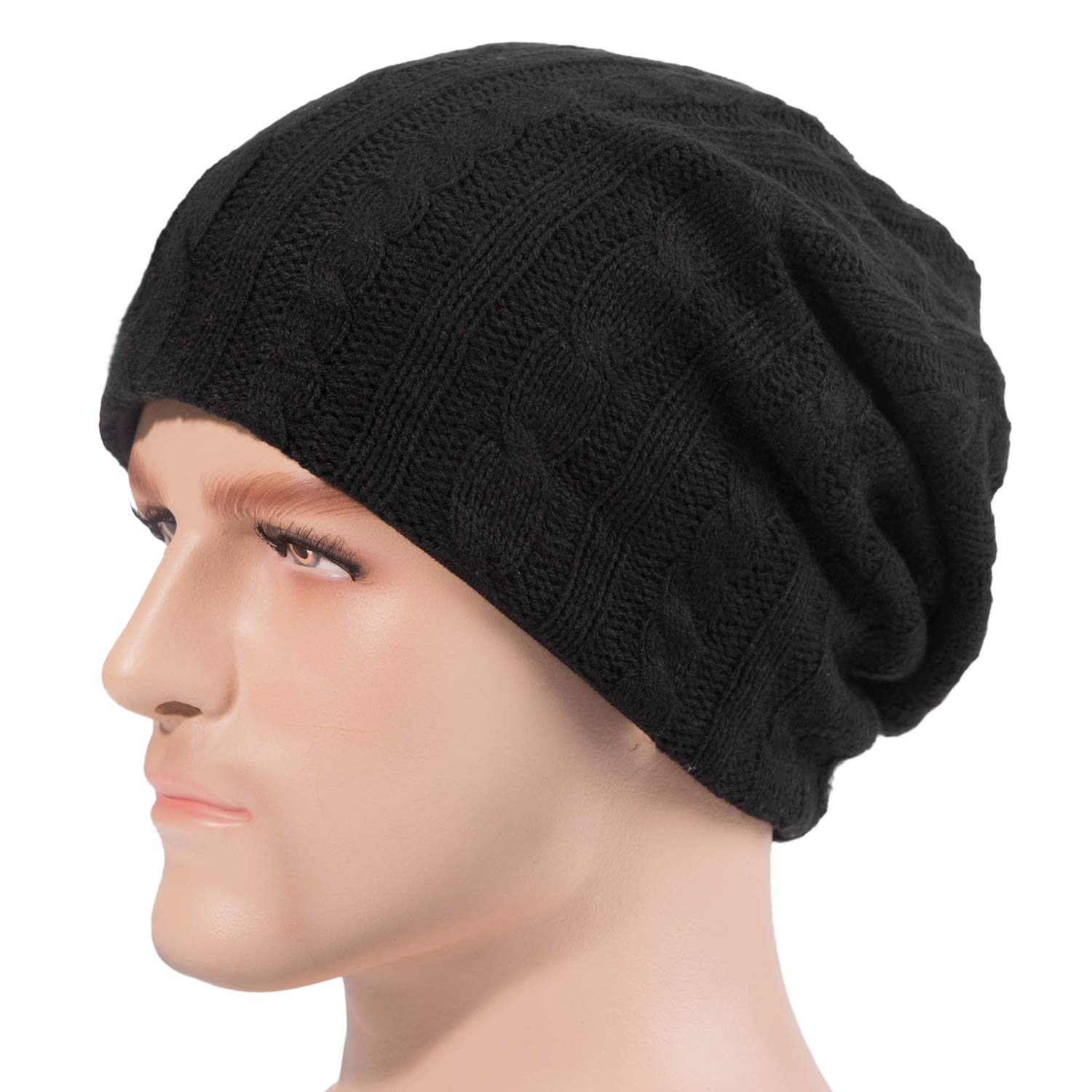 f68a1ae4312 BOMEIMIN Beanie Men Women - Unisex Knit Hat Skull Cap at Amazon Men s  Clothing store