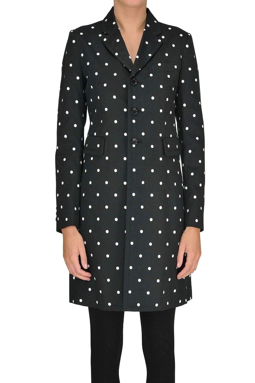 Comme Des Garçons Women's MCGLCSC000005039E Black Cotton Coat