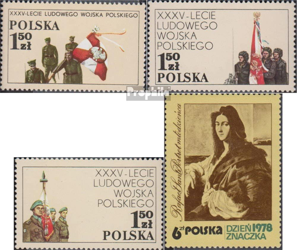 Prophila Collection Polonia Michel.-No..: 2578-2580,2581 (Completa ...
