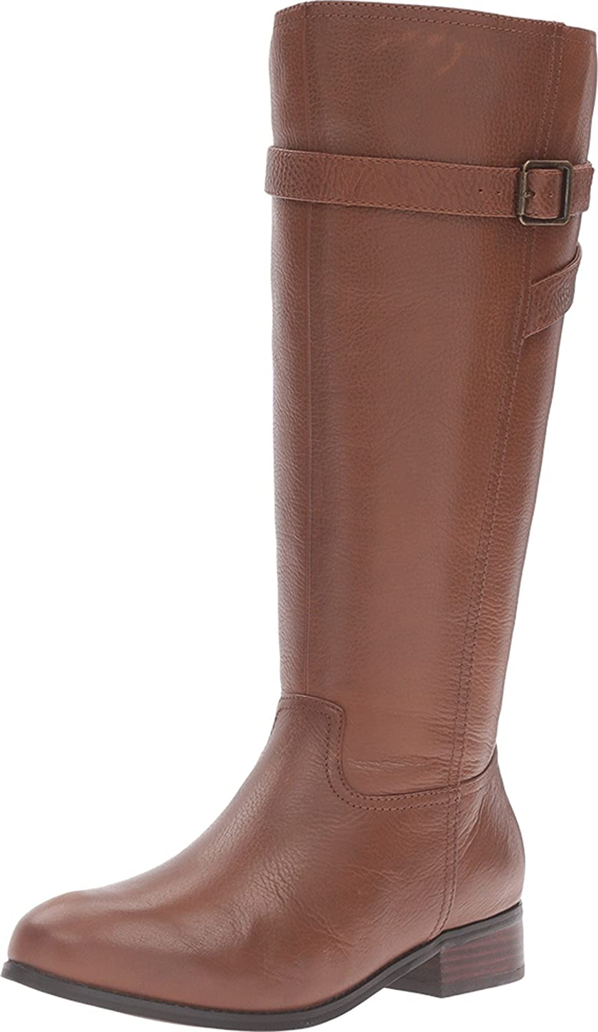 Trotters Women's Lyra Wide Calf Riding Boot B019QTT09M 7 XW US|Cognac Veg Tumbled Leather