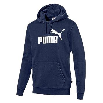 Puma TR Big Logo Sudadera, Hombre, Azul (Peacoat), XXL: Amazon.es: Deportes y aire libre
