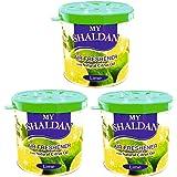 My Shaldan Lime Car and Home Air Freshener (80 g, Pack of 3)