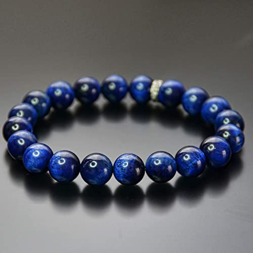 Blue Tiger Eye Bracelet