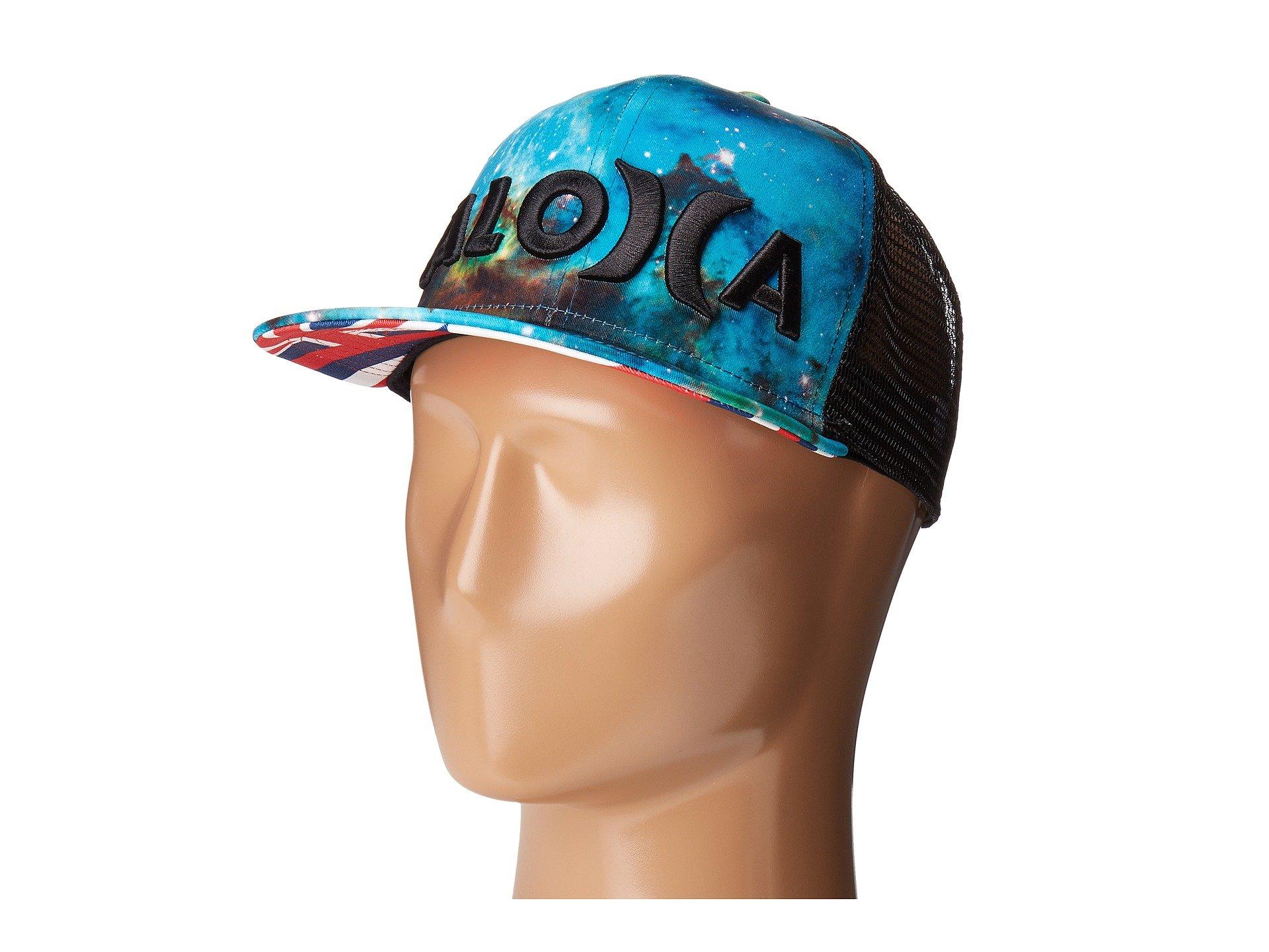 815c820c2 Galleon - Hurley JJF III Nebula Aloha Trucker Hat Multi, One Size