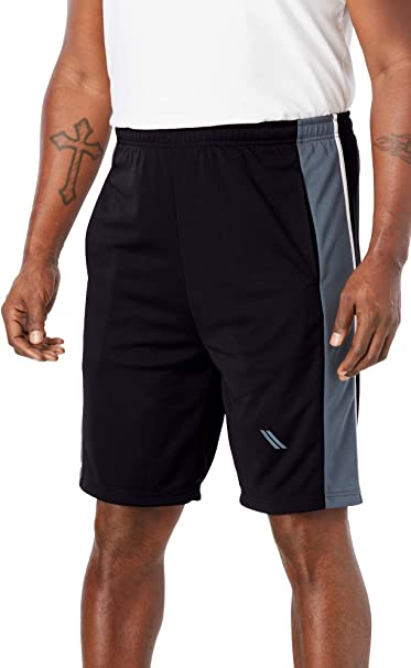 KingSize Men/'s Big /& Tall Power Wicking Shorts