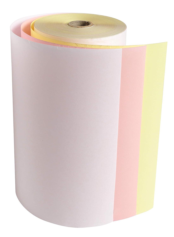 Exacompta 52123E Packung (mit 6 Telex Telex Telex Rollen, ideal für Telex, 57g qm, Breite  210mm, Durchmesser Kern 25mm, Länge  47m) 1er Pack (1 x 6 Stück) weiß gelb Rosa B00GAOFL36     | Klein und fein  3eb1f7