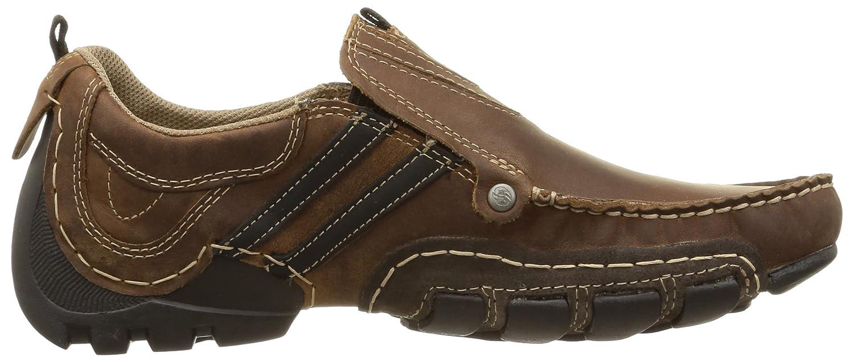 Dockers by Gerli 20AY005-400, Mocasines para Hombre, Marrón-Braun (Cafe/Schwarz 321), 47 EU: Amazon.es: Zapatos y complementos