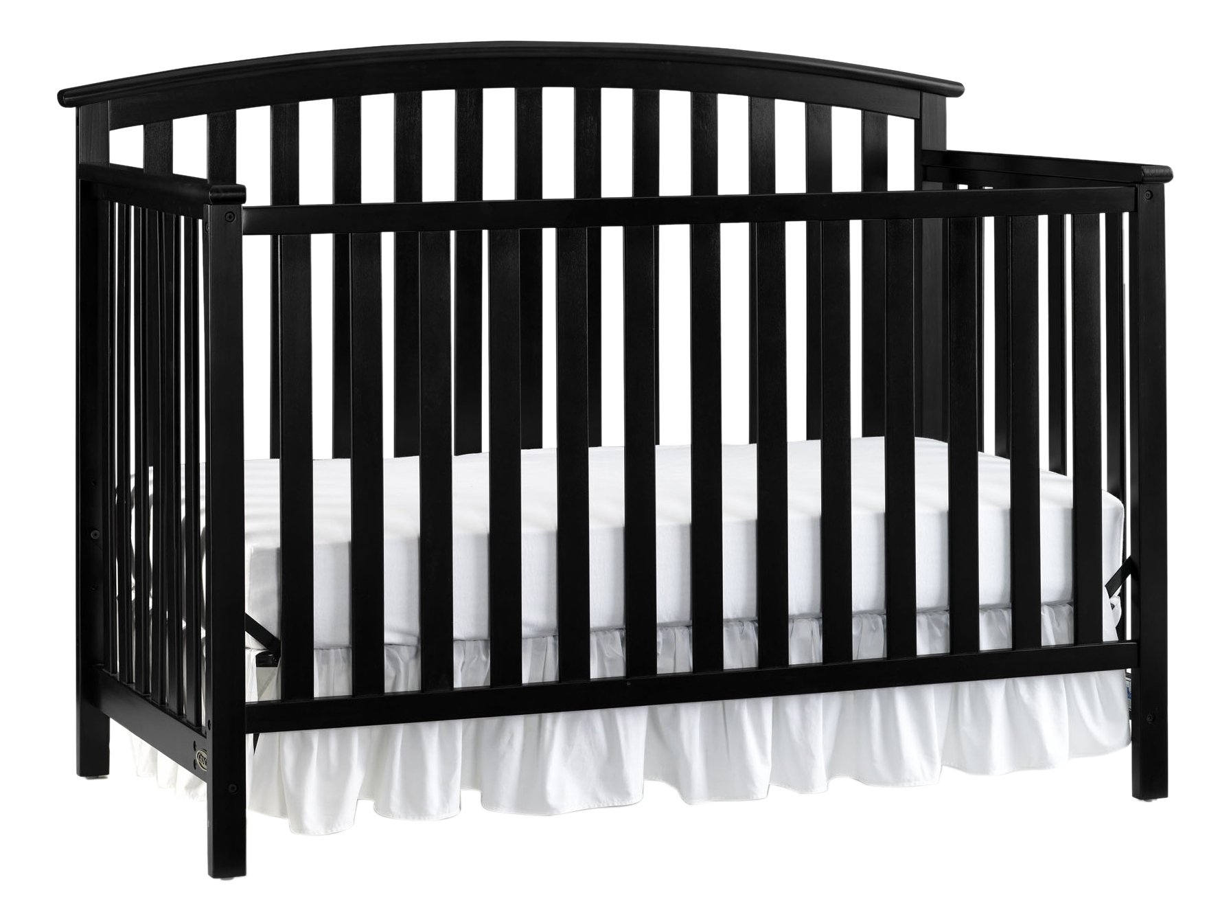 Graco Freeport 4-in-1 Convertible Crib, Black