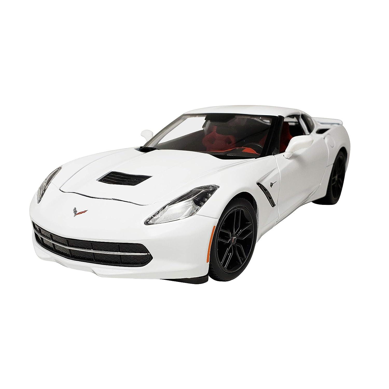 Maisto Special Edition 1:18 2014 Corvette Stingray Z51 Diecast Vehicle (White) china