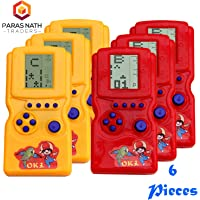 PNT Hand Battery Operated Video Game for Return Gift Purpose. (6 Units with 2 Big Stars)